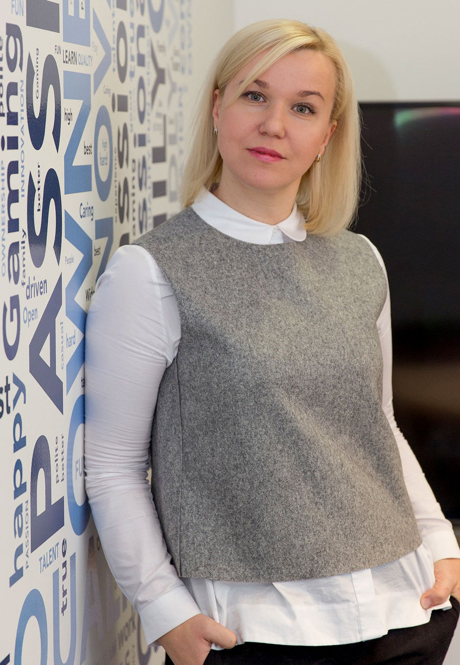Julia Saburova flying the technology flag high for women