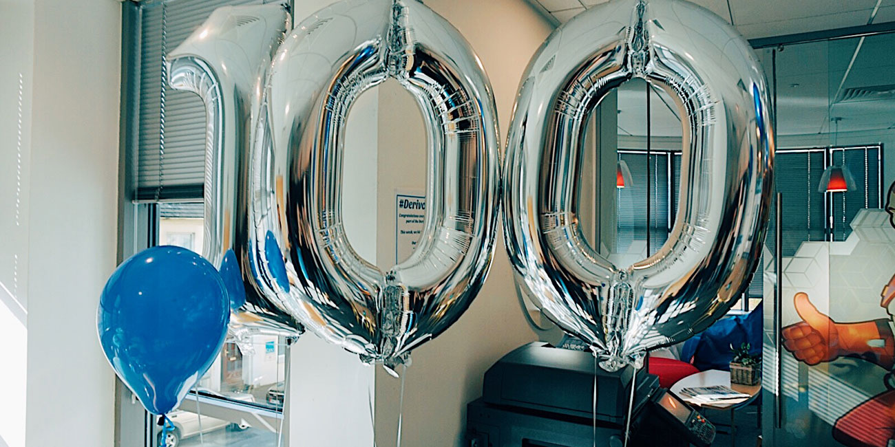 Derivco IOM welcomes its 100th staff member to the family!