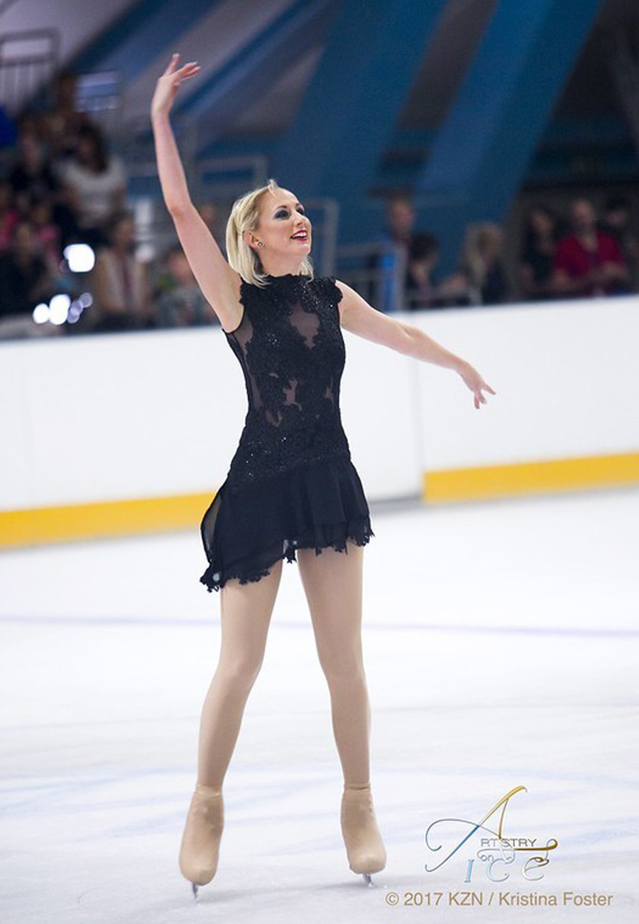 How Figure Skating affects her work – An interview with Tanya Koch